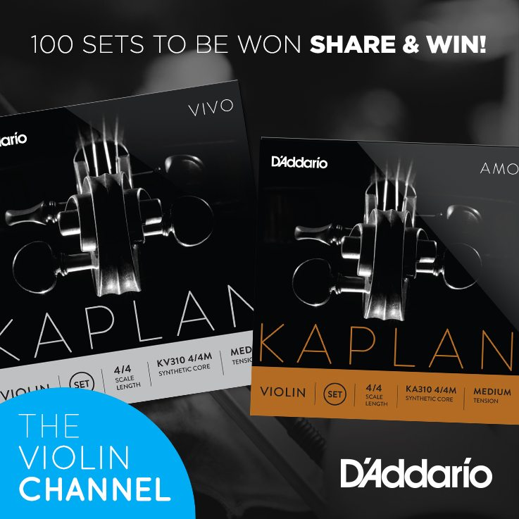 D'Addario Kaplan Violin Strings Competition Giveaway