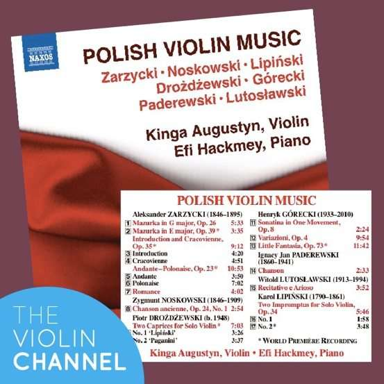 Kinga Augustyn Polish Violin Music