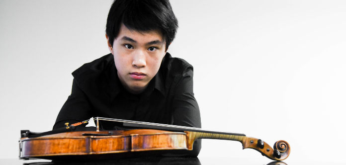 VC YOUNG ARTIST | Kevin Zhu, 16 – Youngest Menuhin
