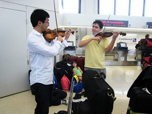 Eric Silberger Boson Mo Newark Airport Menuhin Competition