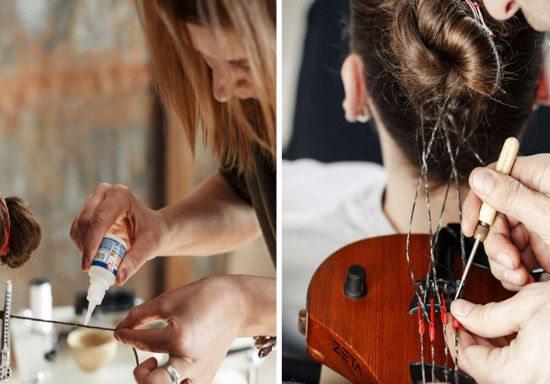 Human Hair Violin Strings Lithuanian Street Musicians Day  Tadas Maksimovas