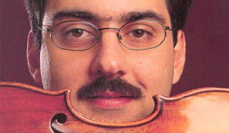 Leonidas Kavakos Young Violin Virtuoso Cover