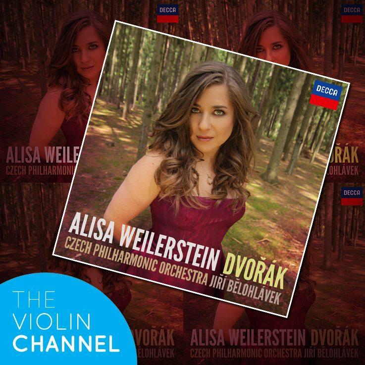 Alisa Weilseratein Dvorak Decca CD