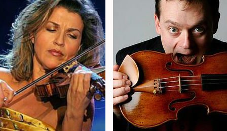 Anne Sophie Mutter Frank Peter Zimmermann Echo Klassic