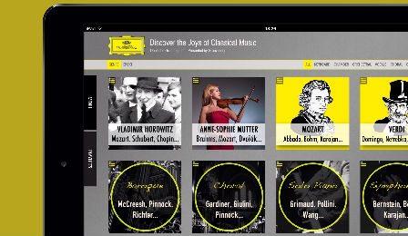 DG Deutsche Grammophon Discovery App Cover 2