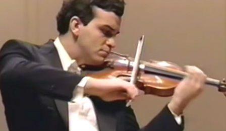 Gil Shaham 20 years old NHK Symphony