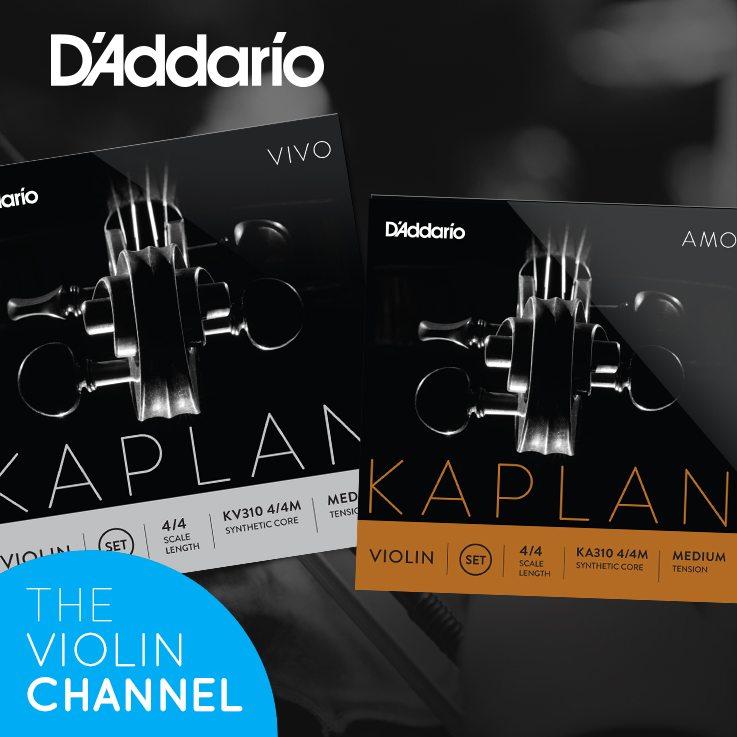 D'Addario Kaplan Amo Vivo Violin String Sets