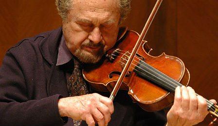 Aaron Rosand Violinist Violin Cover