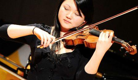 Emily Sun Lipizer Violin Competition Violinist Cover