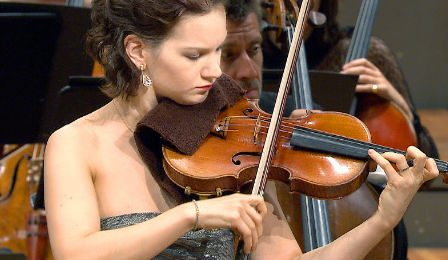 Hilary Hahn Muscle Strain Injury Cover