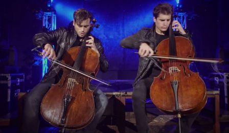 2Cellos 2 Cellos The Tropper Iron Maiden Rossini Cover