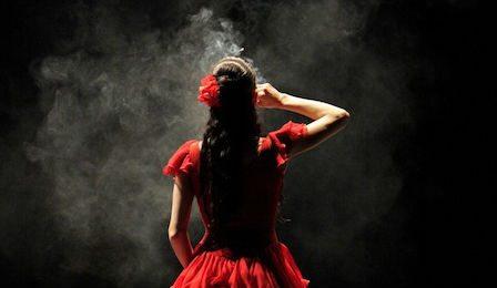 Carmen smoking West Australia Opera Cover