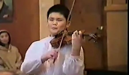 Chuanyun Li 11 Child Prodigy Violin Wieniawski 1991 Cover