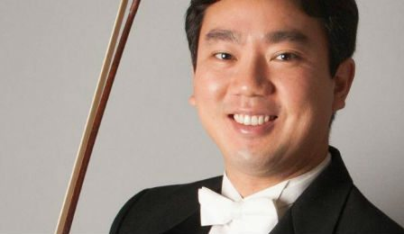 Frank Huang New York Philharmonic Concertmaster Cover