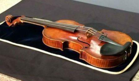 Lipinski Stradivarius Robbery Frank Almond Cover