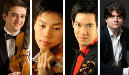 Singapore International Violin Competition Will Tim Richard Fedor Cover