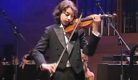 Stephen Waarts Chausson Poeme Violin Menuhin Competition 2010 Cover