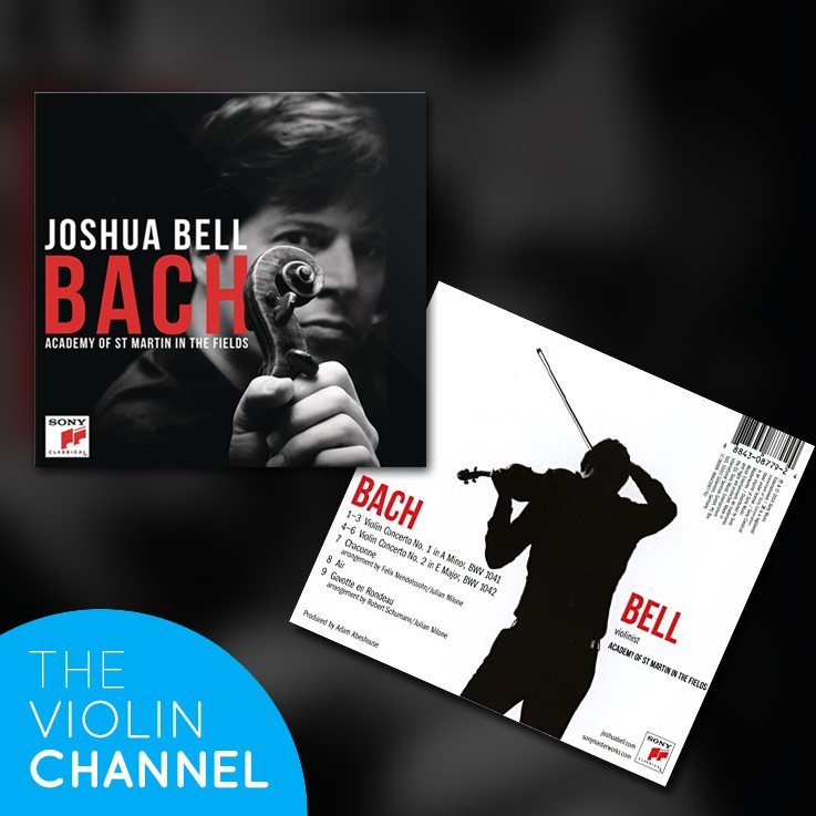 Joshua Bell Bach CD Academy of St Martin in the Fields Sony