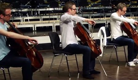 Johannes Moser 12 Cellos Klengel Hymmus Cover