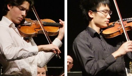 Mirecourt International Violin Competition Finalists Cover