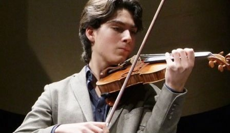 Nathan Mierdl Mirecourt International Violin Competition Cover