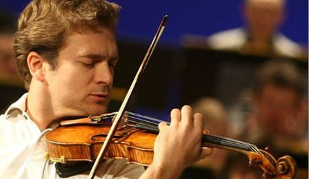 Violinist Renaud Capucon Sommets Festival Cover