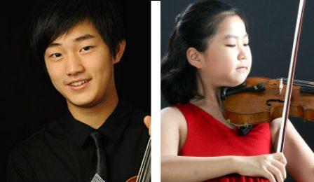 Zeyu Victor Li Soo-Been Lee Young Concert Artists Cover