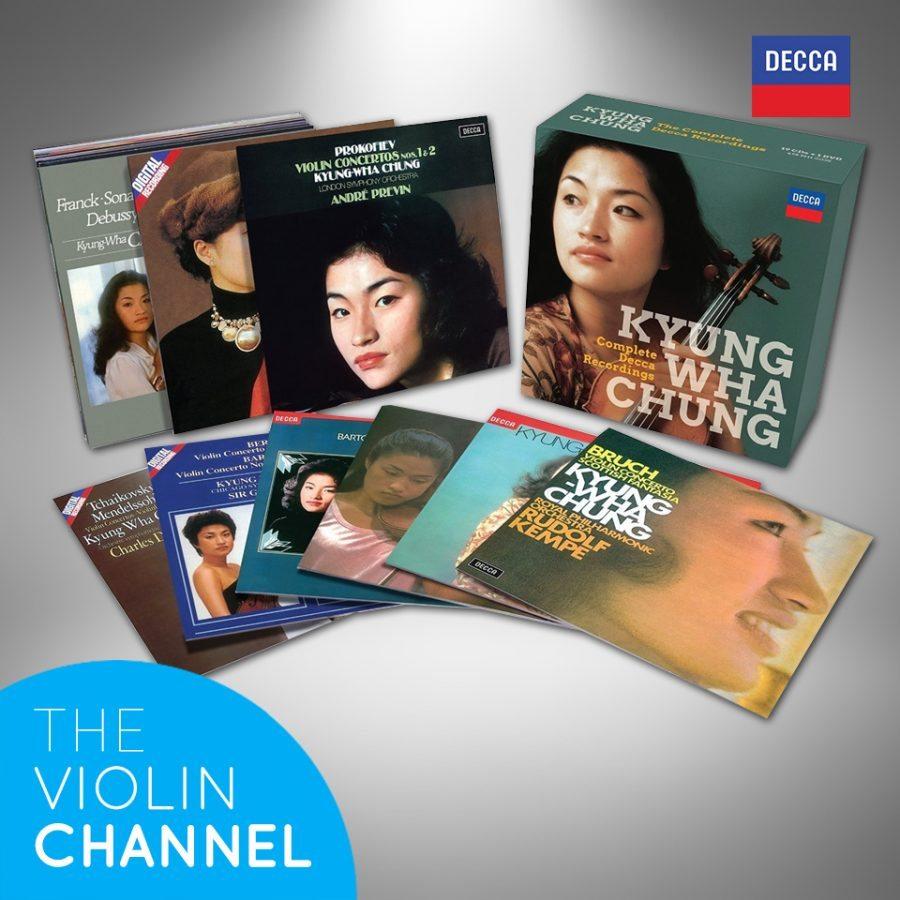 Kyung Wha Chung Complete Decca Recordings Box Set