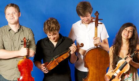 Aeolus Quartet Wigmore Hall String Quartet Competition Cover