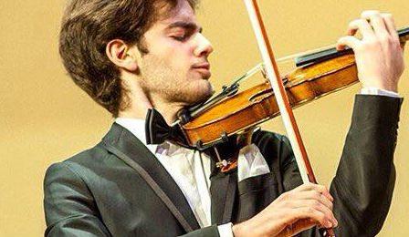 Emmanuel Tjeknavorian Violin Cover