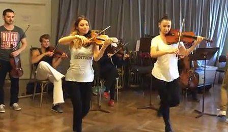 Igudesman Yoo X tradordinary musicians samba violinists cover