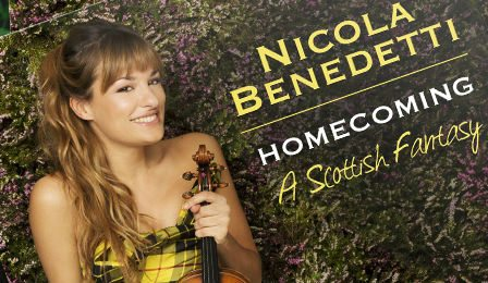 Nicola Benedetti Homecoming A Scottish Fantasy Cover
