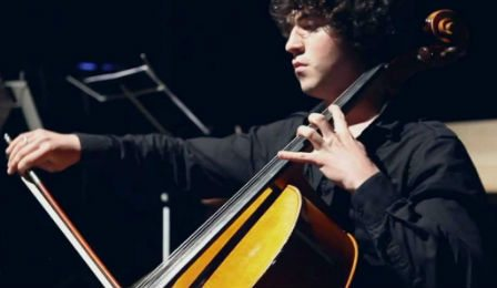 Rustem Khamidullin cello Gisborne Music Competition Cover