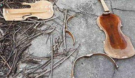 Smashed Viola Philadelphia Stolen Cover