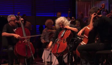 NEW TO YOUTUBE | 2 Cellos + Maisky & Sollima – AC/DC 'Thunderstruck