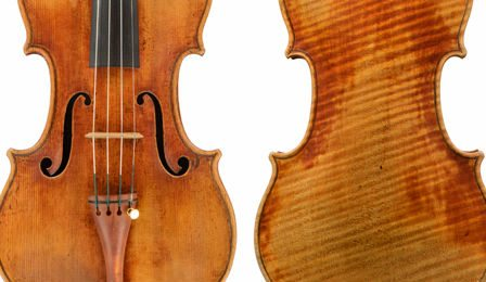 Chinese Stradivarius General Dupont Grumiaux Cover