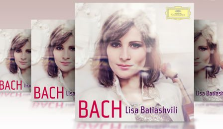 Lisa Batiashvili Bach Violin Channel Giveaway Cover