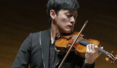 Yu-Chien Benny Tseng Singapore International Violin Competition Cover