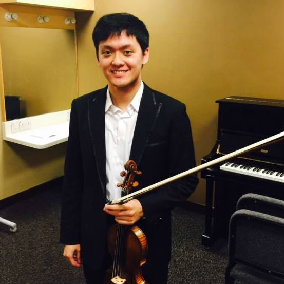 Yu-Chien Benny Tseng Singapore International Violin Competition