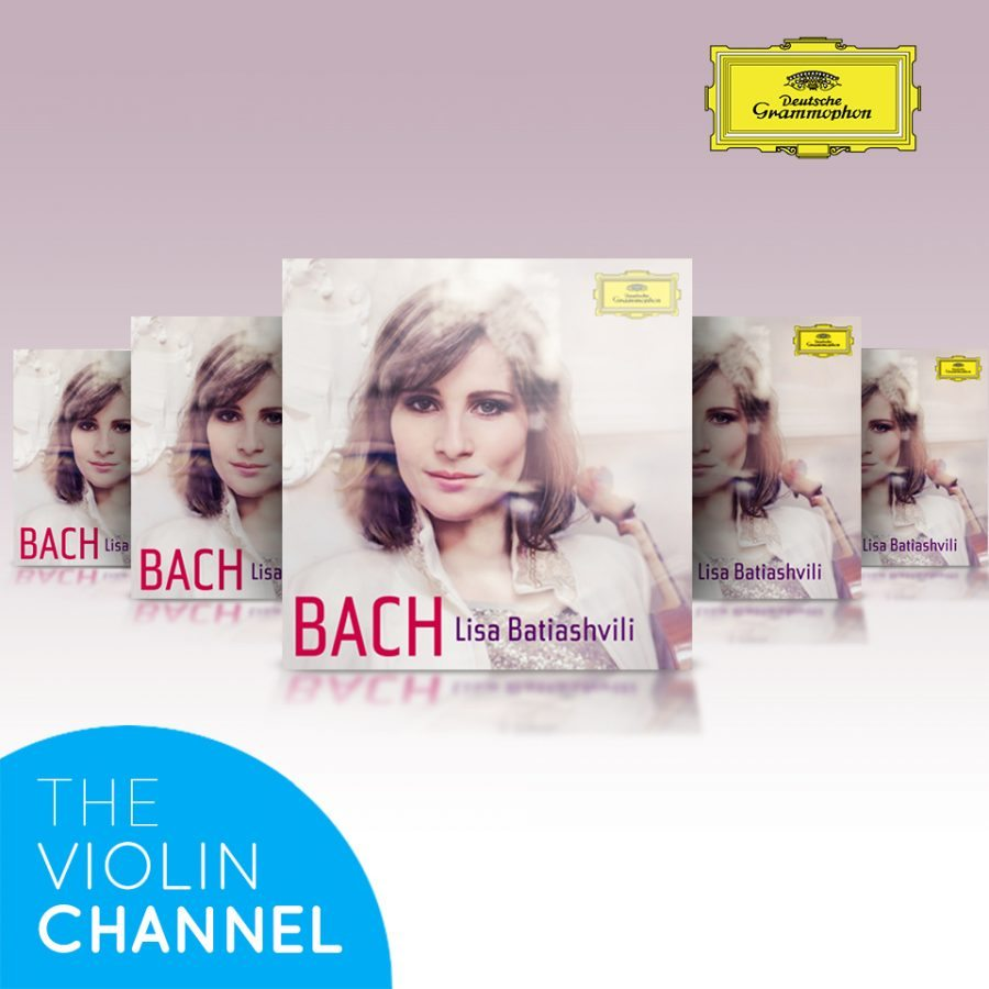 Lisa Batiashvili Bach CD Giveaway The Violin Channel