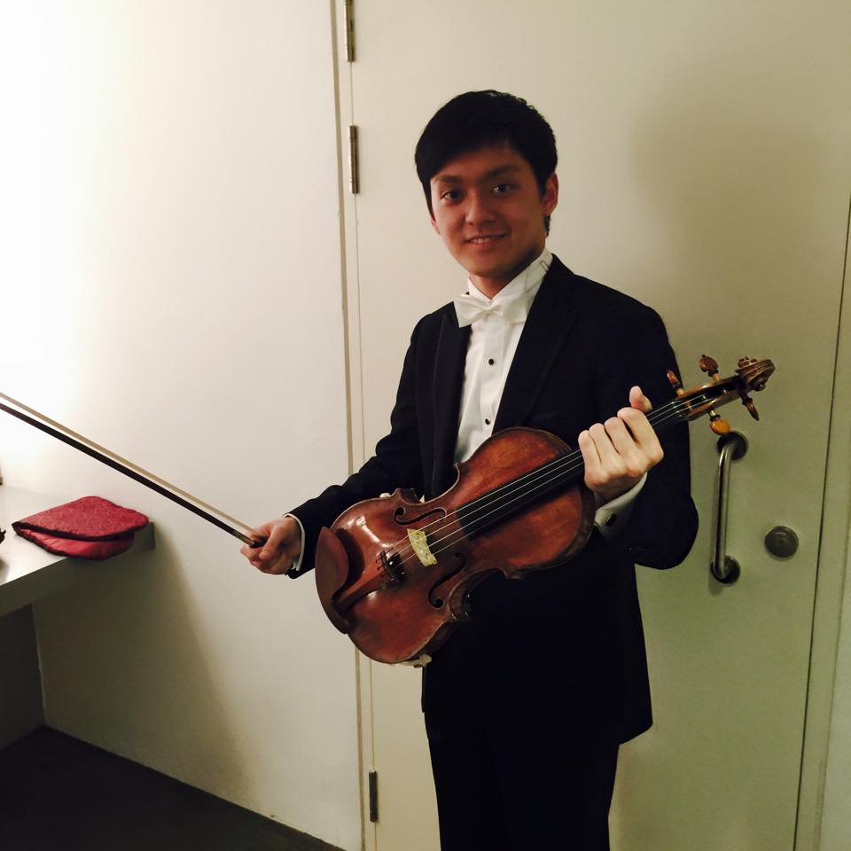 Yu Chien Benny Tseng Singapore International Violin Competition