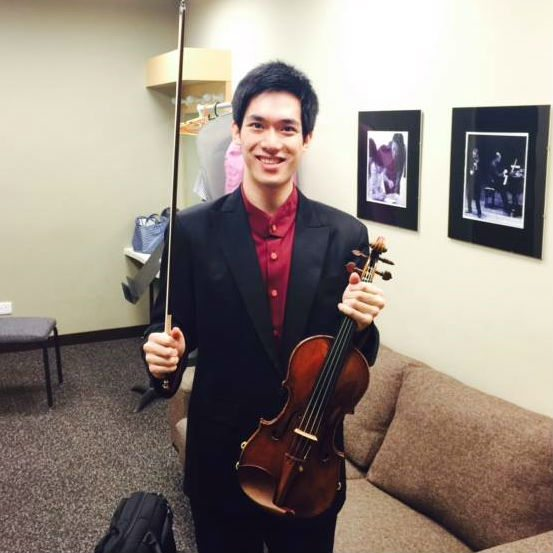 Richard Lin Singapore International Violin Competition