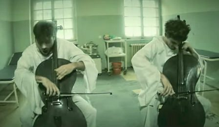 2Cellos Hysteria Muse Youtube Cover