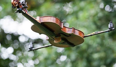 Alejo Pesce ViolinCopter Flying Violin Cover
