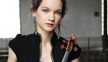 Hilary Hahn 27 Encores Grammy Cover