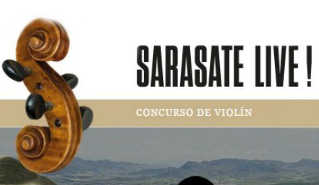 Sarasate International Violin Competition Cover