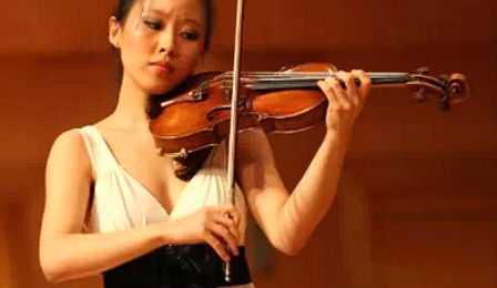 Elly Suh Violin Violinist Seoul Competition Cover