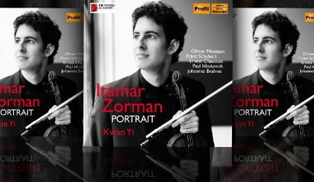 Itamar Zorman Portrait CD Cover