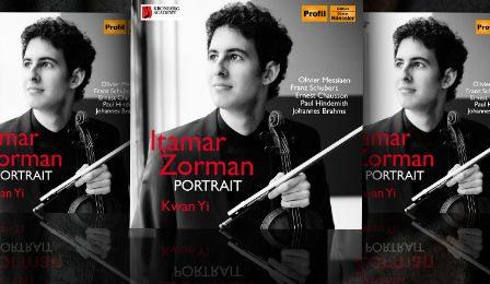 Itamar Zorman Portrait CD Cover