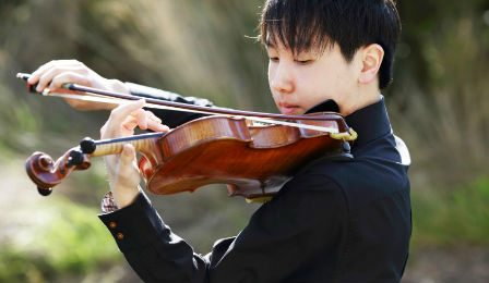 Stephen Kim Seoul International Violin Competition Cover